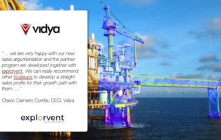 Vidya on sales profile and partner program